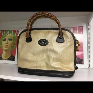 Dooney & Bourke Bags - Dooney & Bourke bamboo handle tote bag